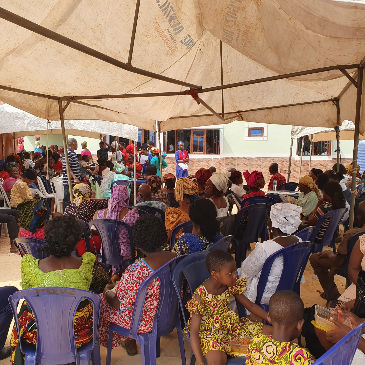 Cross section of beneficiaries at Triage section
